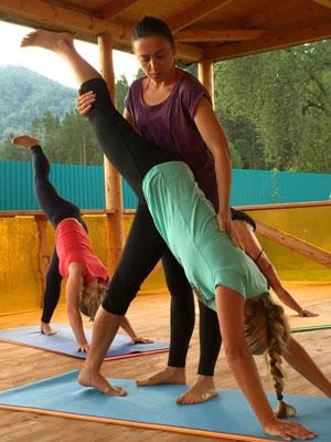 Фитнес йога для мышц